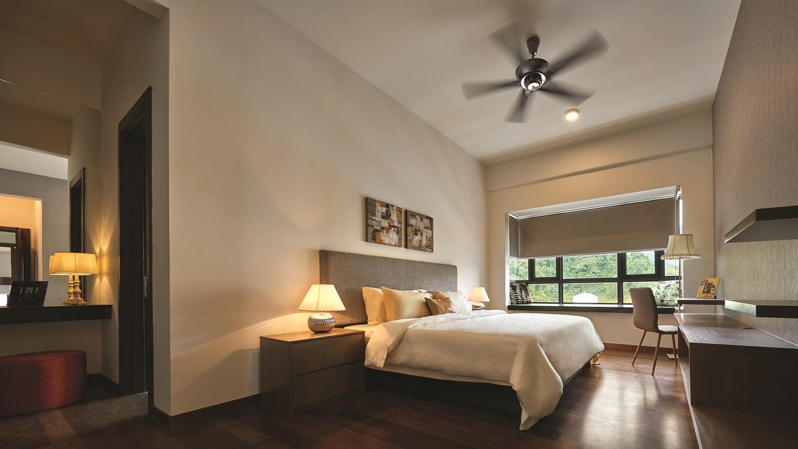 Type D master bedroom
